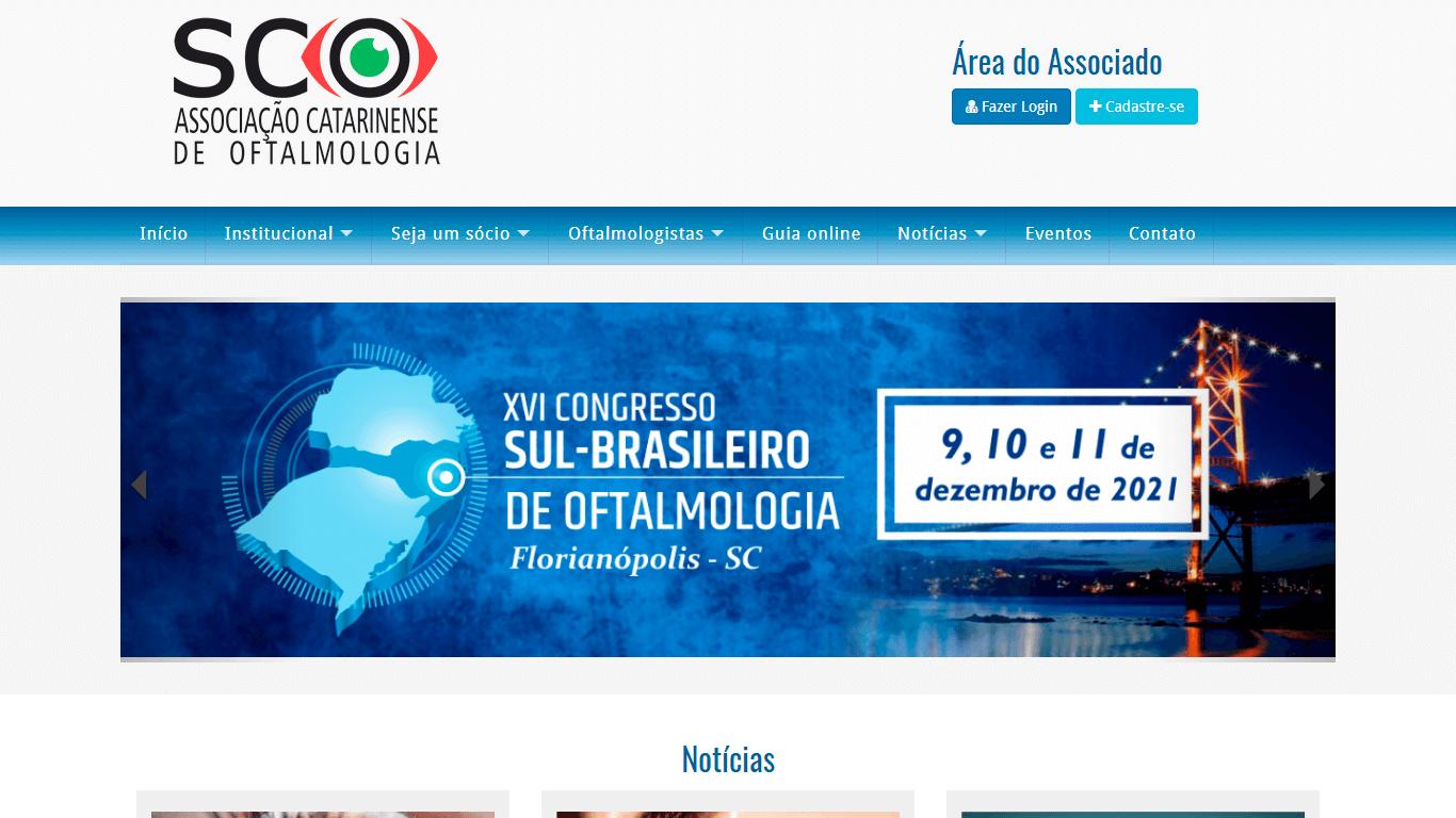 SCO – Associação Catarinense de Oftalmologia