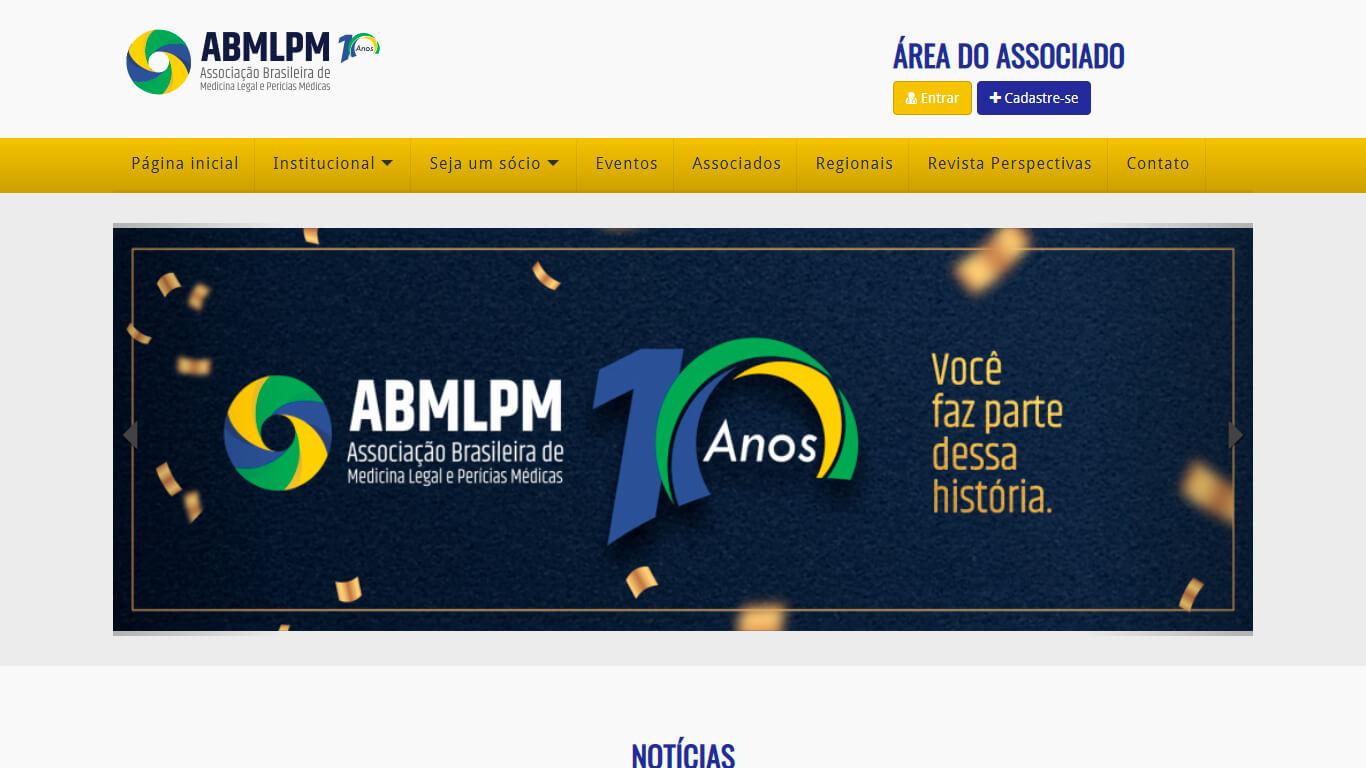 ABMLPM – Associação Brasileira de Medicina Legal e Perícias Médicas