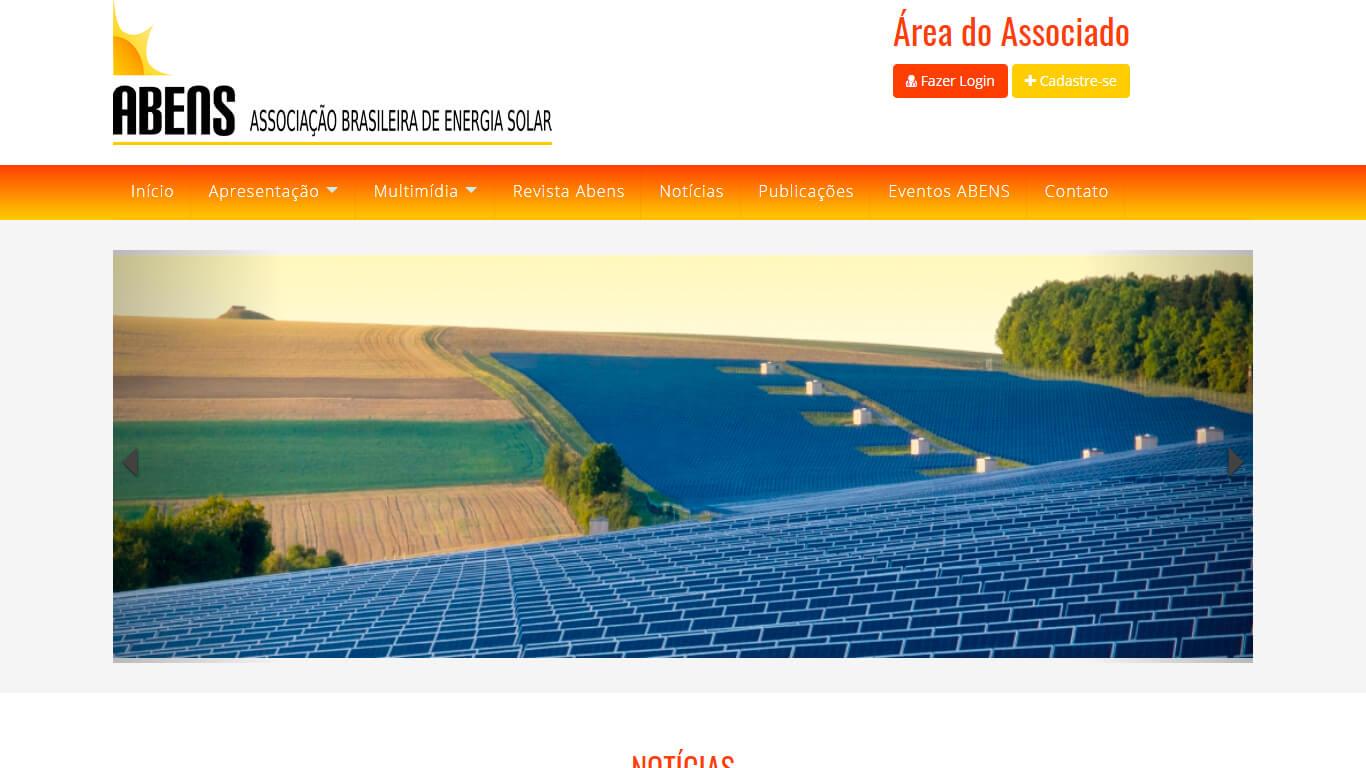 ABENS – Associação Brasileira de Energia Solar